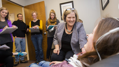 Jones receives career honor for audiology work