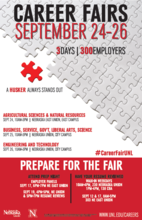 Attend the 2013 Fall Career Fairs, September 24-26