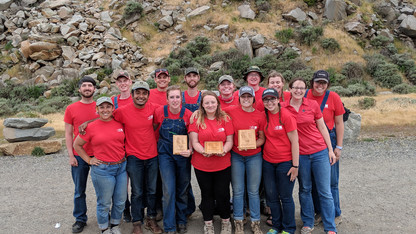 Soil judging team takes bronze at nationals