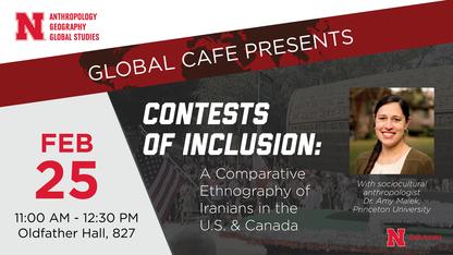 Global Café to feature Iranian diaspora expert, anthropologist