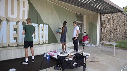 Murals painted in University Place neighborhood