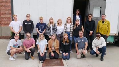 Husker students, collaborators working on Omaha Mobile Stage
