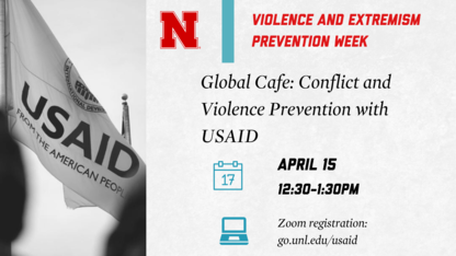 Global Café: Conflict and Violence Prevention with USAID