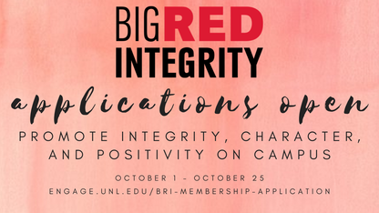 Big Red Integrity applications now open
