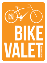 Bike Valet offered for Red-White scrimmage
