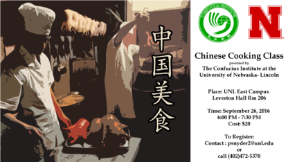 Confucius Institute offers Chinese cooking class