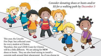 Donation drive seeks boots, shoes for elementary students