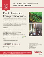 Plant phenomics symposium registration due by Oct. 1