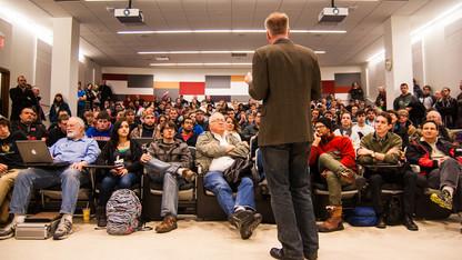 UNL Maker Club's first meeting draws 200+
