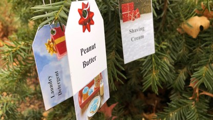Giving tree to benefit campus pantry