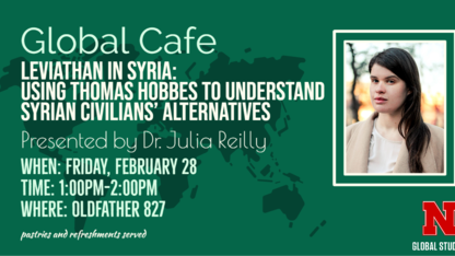 Global Café to explore human rights issues in Syria