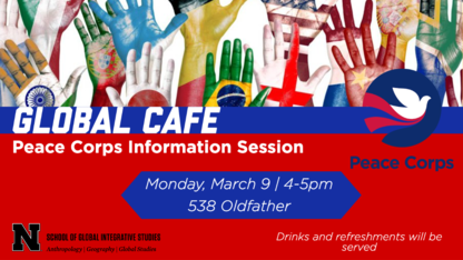 Global Cafe to host Peace Corps information session