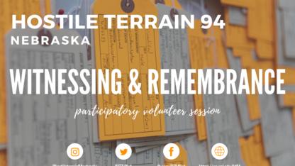 Participants sought for Hostile Terrain 94 workshops