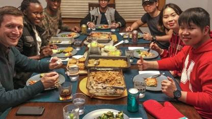 Hosts, students sought for 'Dinner in a Nebraska Home'