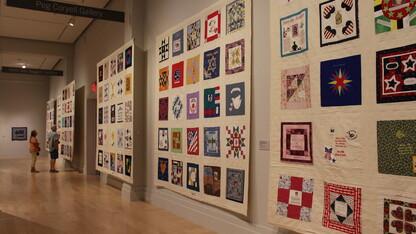 9/11 memorial quilt to be displayed in N.Y., Nebraska