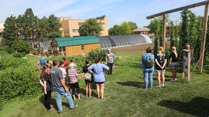 'Biggest Growers' tour East Campus, learn about agronomy, horticulture, landscape design