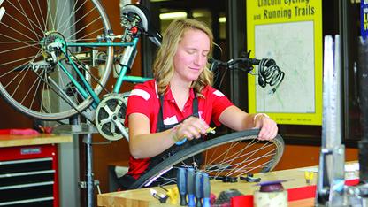 Campus Rec offers free bike maintenance classes