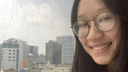 Husker undergrad seizes opportunity to study abroad