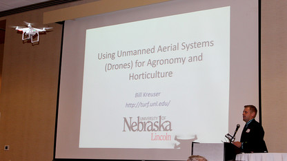 Agronomy, horticulture hosts mini-symposium on drones in agriculture