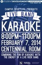 Feb. 7 event to combine karaoke, live rock band