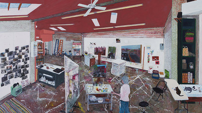 Visiting artist talks feature painter Sarah McEneaney