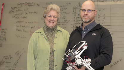 Study reveals benefits of UNL robotics program