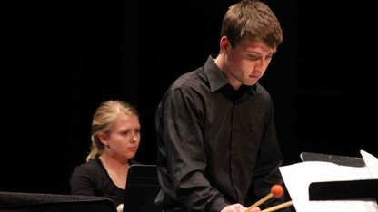 Percussion Ensemble presents a night of 'Water' music