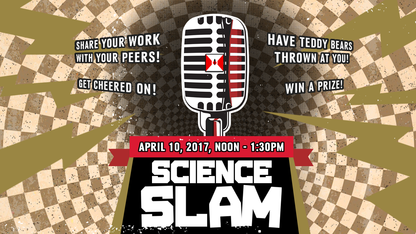 Applications for Science Slam due March 27