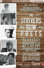 The Strivers Row Poets present 'Spoken Word Performances' Nov. 13