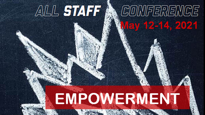 University's All-Staff Conference is May 12-14