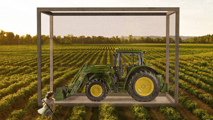 Architecture students help tractor museum explore expansion options