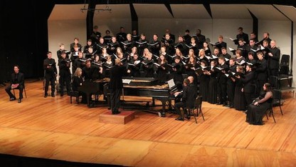 University Singers perform 'Songs for a Better World'