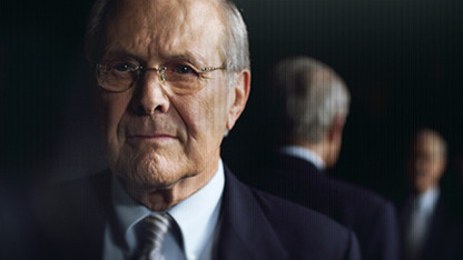Rumsfeld portrait and 'Grand Budapest Hotel' featured through April 24