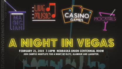 Campus NightLife to host 'A Night in Vegas' Feb. 21