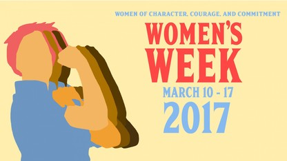 Women's History Month Banquet is March 15