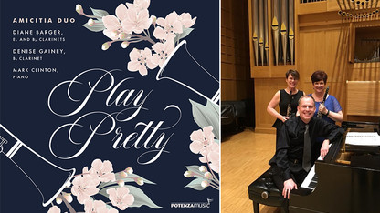 Barger's Amicitia Duo releases 'Play Pretty'