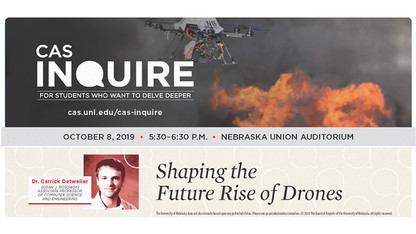 Inquire lecture series continues with Detweiler and drones