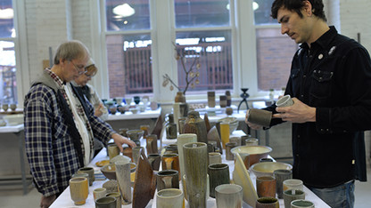 Pottery, print sales are Dec. 13-14