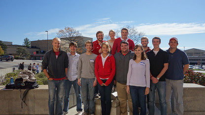 Engineers Without Borders student chapter earns honor