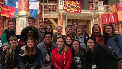 Film, theater students study at Shakespeare's Globe in London