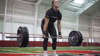 Strong Husker competition is  Oct. 28