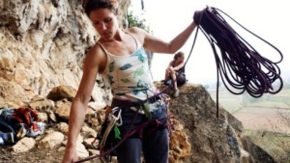 Outdoor Adventures hosts talk by professional climber