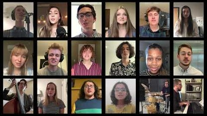 Virtual UNL Jazz Singers: Orange and Blue