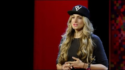 """Locker room talk."" Says who?   Alexis Jones   TEDxUniversityofNevada"