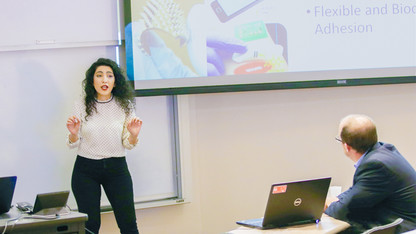 Pitch competition draws engineering students, faculty