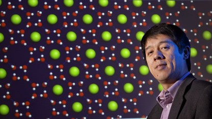 Water-loving chemist also explores clusters of gold atoms