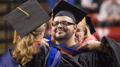 UNL awards graduate degrees
