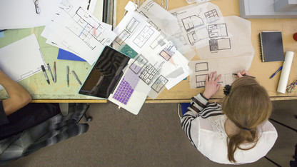 Architecture students assist with museum project