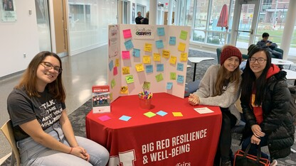 Big Red Resilience and Well-Being to host Gratitude Graffiti Week