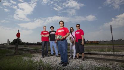 UNL team developing sensors to enhance rail safety